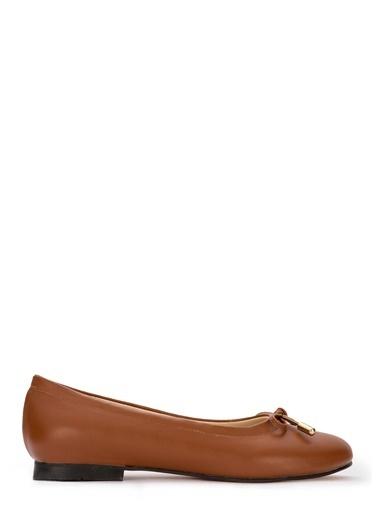 Sole Sisters Babet & Düz Ayakkabı Taba - Irina Ten
